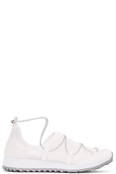 Jimmy Choo - White Andrea Sneakers