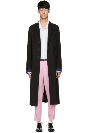 Haider Ackermann - Black Long Coat