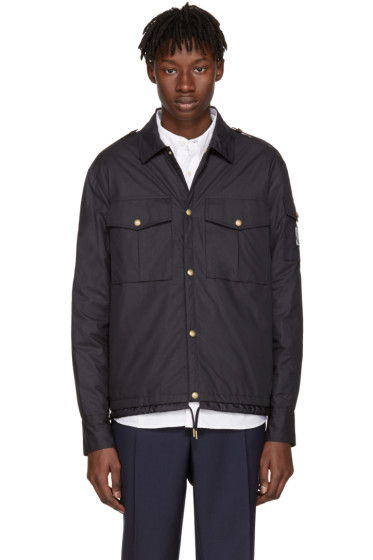 Moncler Gamme Bleu - Navy Short Military Jacket