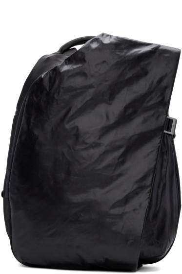 Côte & Ciel - Black Small Isar MemorySuede Backpack