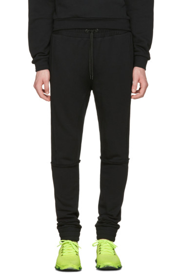 Pyer Moss - Black Tattered Lounge Pants