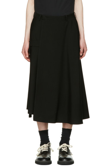 Lad Musician - Black Wool Hakama Trousers