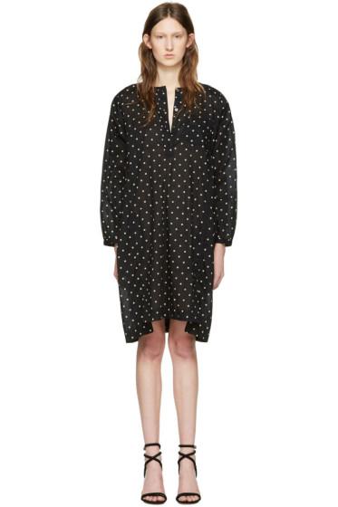 Isabel Marant Etoile - Black Polka Dot Makya Dress