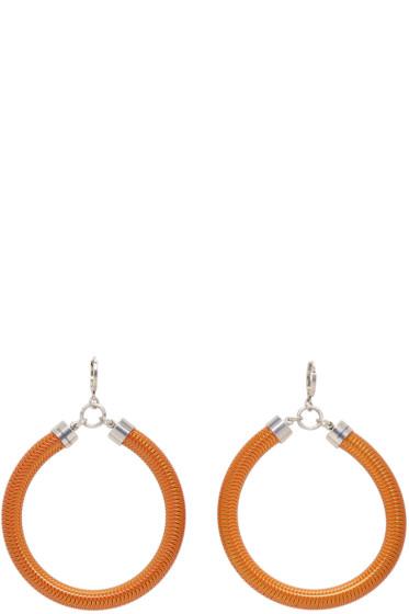 Isabel Marant - Orange Tube Earrings