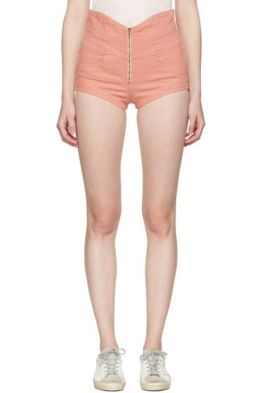 Isabel Marant - Pink Denim Everson Shorts