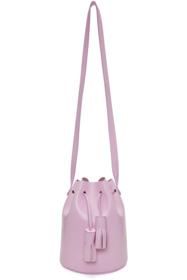 Building Block - Pink Mini Bucket Bag