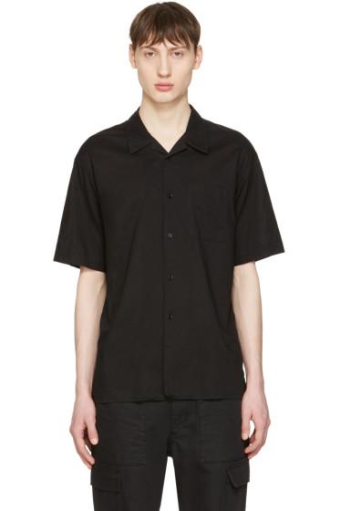 Undecorated Man - Black Pocket Shirt