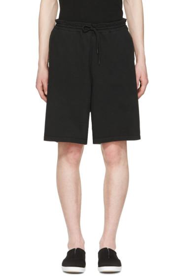 Undecorated Man - Black Drawstring Lounge Shorts