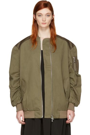 Won Hundred - Green Dolly 2 Bomber Jacket