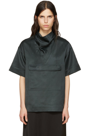 Nomia - Green Oversized Anorak Pullover