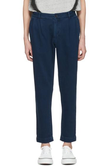 Etudes - Navy Archives Trousers