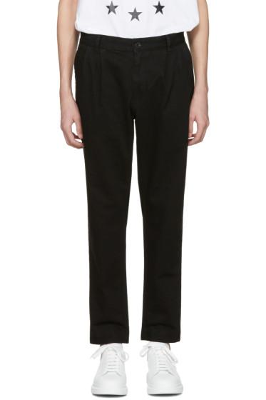 Etudes - Black Archives Trousers