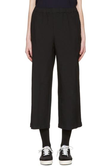 Comme des Garçons Comme des Garçons - Black Drawstring Trousers