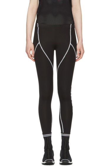Fendi - Black Yoga Leggings