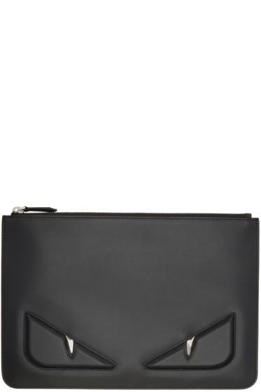 Fendi - Black 'Bag Bugs' Pouch