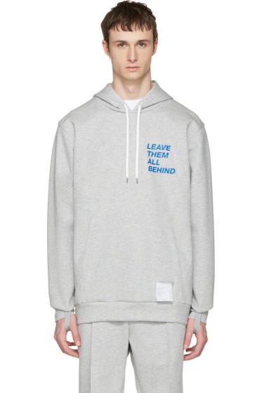 Satisfy - Grey Post-Run Hoodie