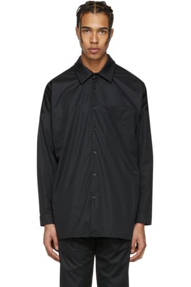 Cottweiler - Black Embroidered Service T-Shirt