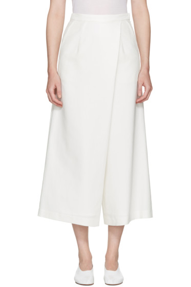 Enfold - Ivory Wide Culottes