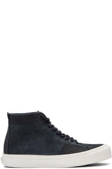 Vans - Navy Taka Hayashi Edition Sk8 Skool LX High-Top Sneakers