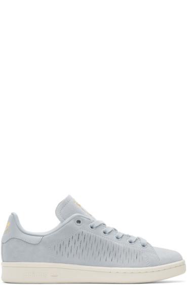 adidas Originals - Blue Suede Stan Smith Sneakers
