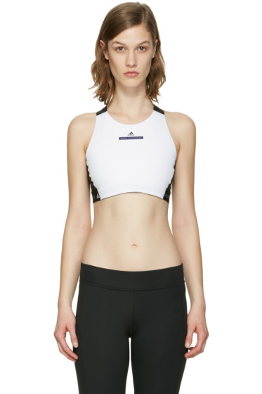 adidas by Stella McCartney - White Climalite Bra