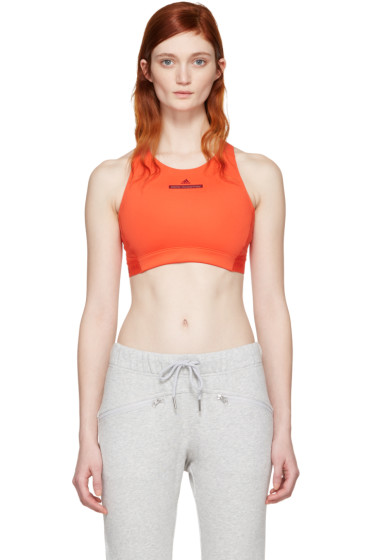 adidas by Stella McCartney - Red Climalite Bra