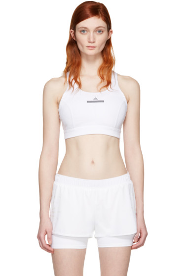 adidas by Stella McCartney - White Pull-On Bra