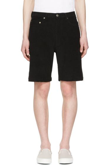 Noon Goons - Black Club Cord Shorts