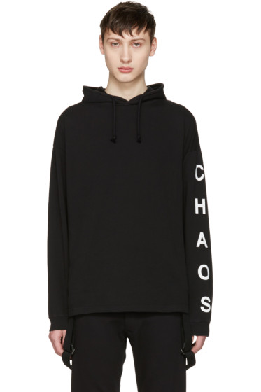 Alyx - Black 'Chaos' Hoodie