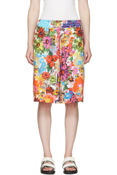 Ports 1961 - Multicolor Floral Ample Shorts