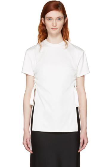 Ellery - Ivory Montagues T-Shirt