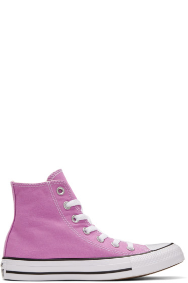 Converse - Purple Classic Chuck Taylor All Star OX High-Top Sneakers