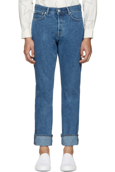 Our Legacy - Blue First Cut Jeans