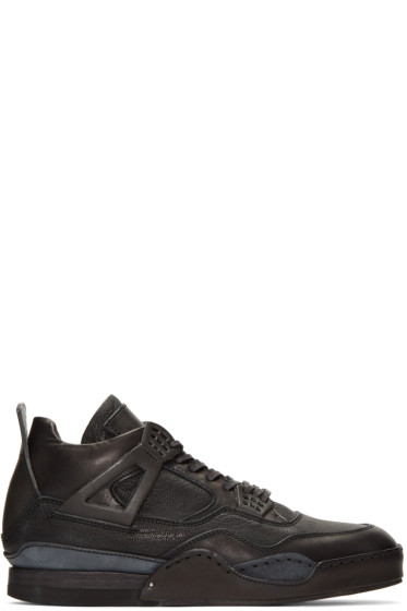 Hender Scheme - Black Manual Industrial Products 10 High-Top Sneakers