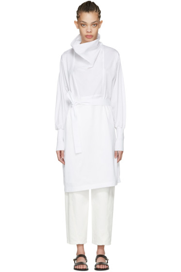Nehera - White Darton Dress
