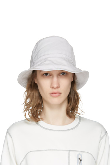 and Wander - Off-White Bucket Hat