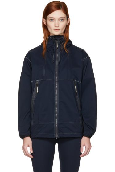 and Wander - Navy Pertex Wind Jacket