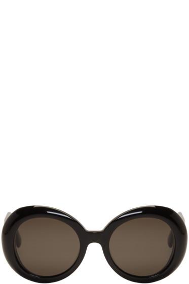 Gentle Monster - Black 'Red Pocket' Sunglasses
