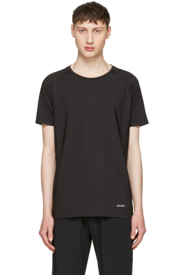 ISAORA - Black No Sew T-Shirt