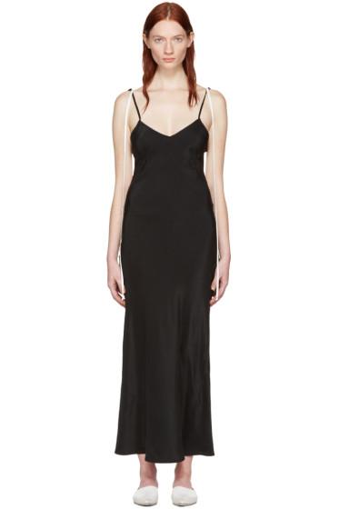 Wendelborn - ブラック コンボ スリップ ドレス