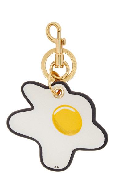 Anya Hindmarch - Ivory Egg Keychain