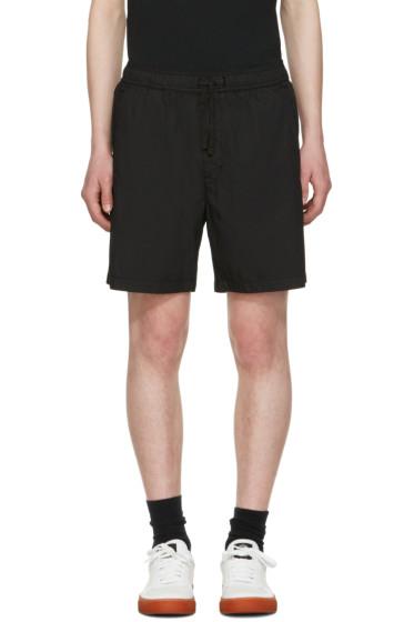 Stone Island Shadow Project - Black Bermuda Shorts