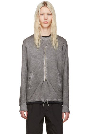 Stone Island Shadow Project - Grey Zippers Pullover