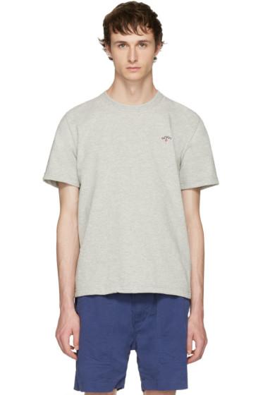 Noah NYC - Grey Running Club T-Shirt