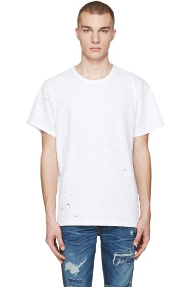 Amiri - White Shotgun T-Shirt