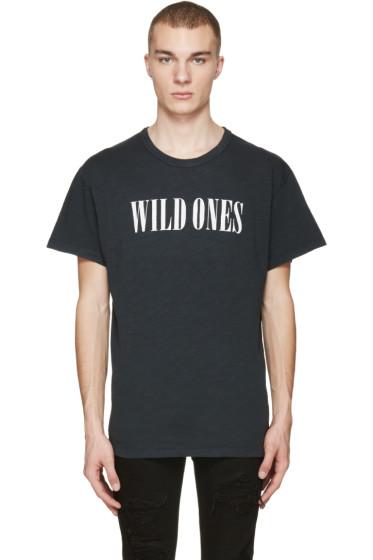 Amiri - Black Vintage 'Wild Ones' T-Shirt