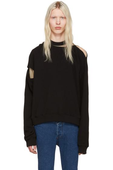 Y/Project - Black Slit Pullover