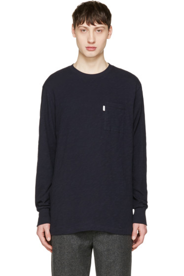 Aime Leon Dore - Navy Loose Pocket T-Shirt