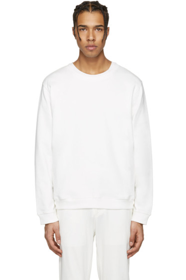 Rochambeau - White Keith Pullover