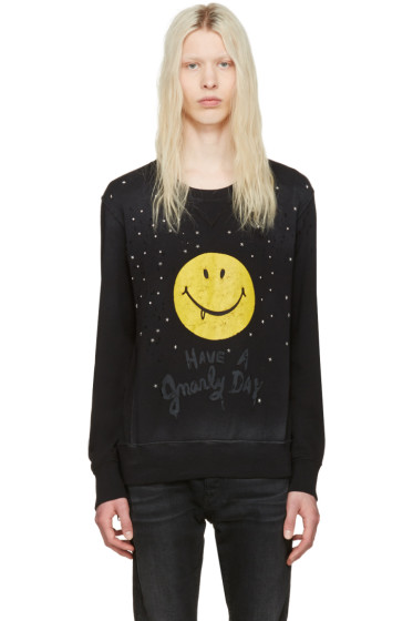 Coach 1941 - Black Baseman Edition Gnarly Face Pullover